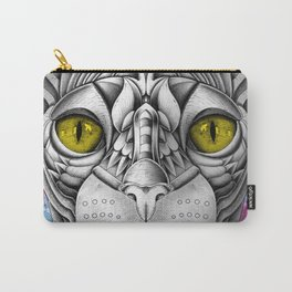 Watercolor Sphynx Cat Carry-All Pouch