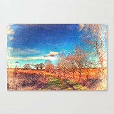 Hunworth to Holt Canvas Print
