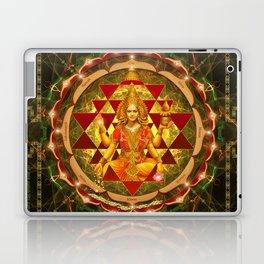 Shri Yantra- Maha Lakshmi Ashtakam- Abundance Laptop & iPad Skin