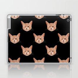 Kiki, the pretty blind cat Laptop & iPad Skin