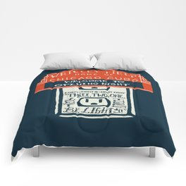 Flick the Switch Comforters