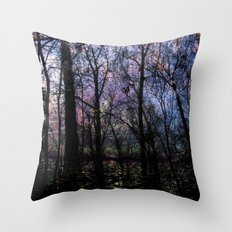 Through (variation) Throw Pillow