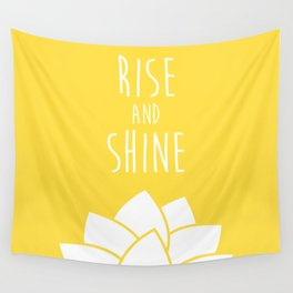 Rise and Shine Wall Tapestry