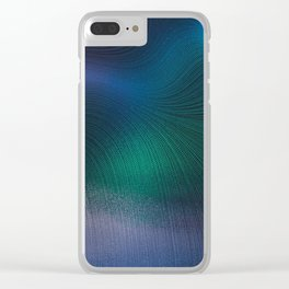 Beauty of the Northern Lights Clear iPhone Case