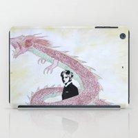 kpop iPad Cases featuring Dragon Spirit by Ahri Tao