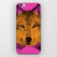 eric fan iPhone & iPod Skins featuring Wild 7 by Eric Fan & Garima Dhawan by Garima Dhawan