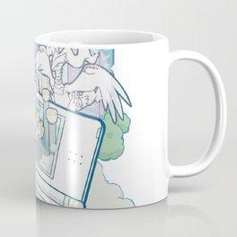 Pocket Monsters V4 - Facing Time & Space Coffee Mug
