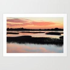 Intracoastal Sunrise Art Print