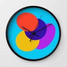 Circus Egg Wall Clock
