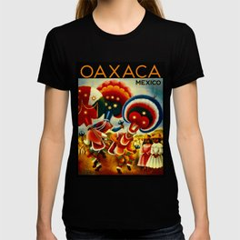 Oaxaca Mexico Vintage Travel T-shirt