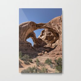 Double Arch - Vertical Metal Print