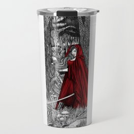 Silent Warrior by Tierra Jackson Travel Mug