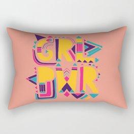 GRL PWR Rectangular Pillow