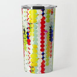 bohemian abstract pattern Travel Mug