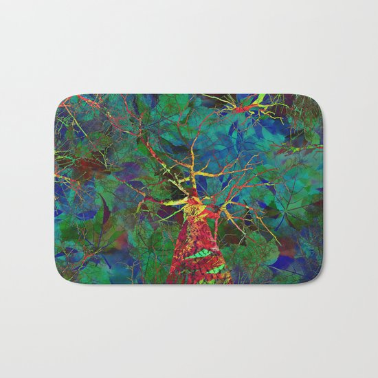 Autumn - The Most Colorful Season of All Bath Mat
