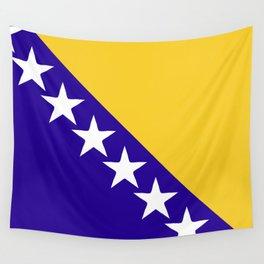 Bosnia and Herzegovina flag emblem Wall Tapestry