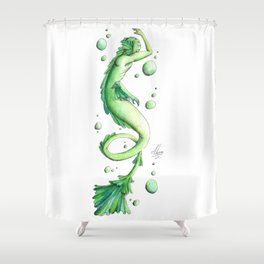 Mermaid 21 Shower Curtain