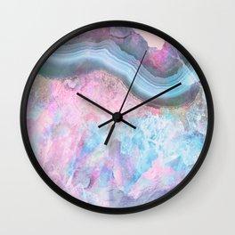Unicorn Agate Wall Clock