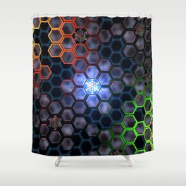 Archive (Minor) Shower Curtain