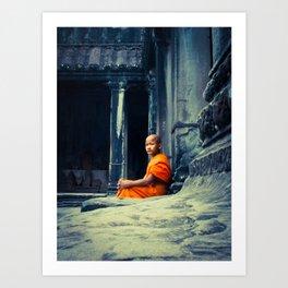 Angkor Calm Art Print