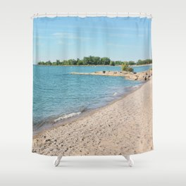 AFE Kew-Balmy Beach 8 Shower Curtain