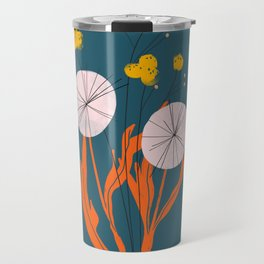 Wildflowers Dancing at Dusk Travel Mug
