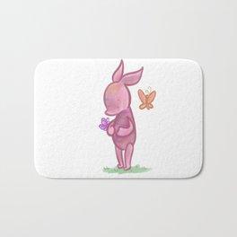 Spring Piglet Bath Mat