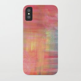 Sunset Background iPhone Case