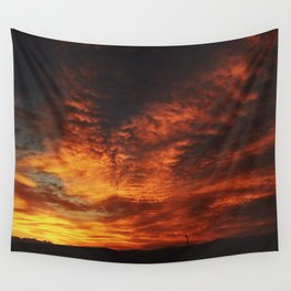 Simple Sunset Wall Tapestry