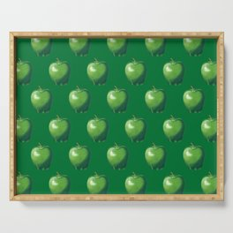 Green Apple_B Serving Tray