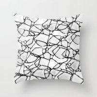 random Throw Pillows featuring Random by Cr7izbest