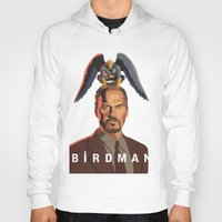 birdman Hoodies featuring The Birdman by RobHansen
