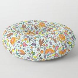 Cute Rainforest Pattern Floor Pillow