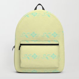 Pattern in yellow Backpack