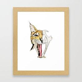 Go Bobcats! Framed Art Print