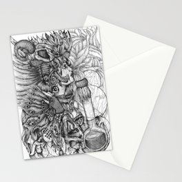 Witch Doctor Stationery Cards