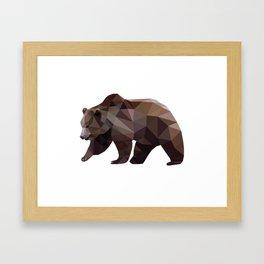 Kloth Bear Framed Art Print