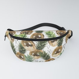 Disco pineapple Fanny Pack