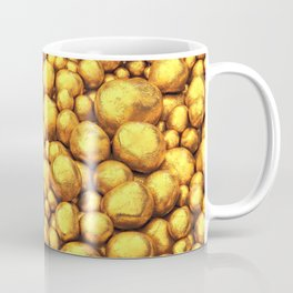 Raw gold Coffee Mug