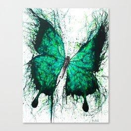 Night Garden Butterfly Canvas Print