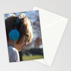 Verliebt mit Musik Stationery Cards