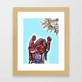 Seed Song Framed Art Print