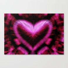Overtaking Love Canvas Print