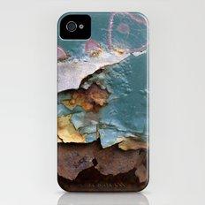 Teal Peel II iPhone (4, 4s) Slim Case