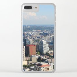 Scenic Seattle Clear iPhone Case