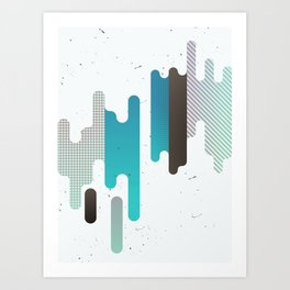 Abstract Texure Art Print