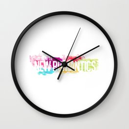 New Romantics Wall Clock