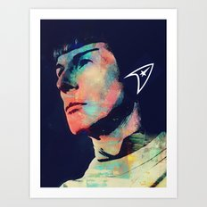mister spokk Art Print