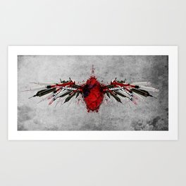 Lost Angels Art Print
