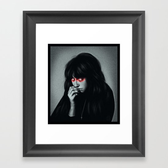 Repent Framed Art Print